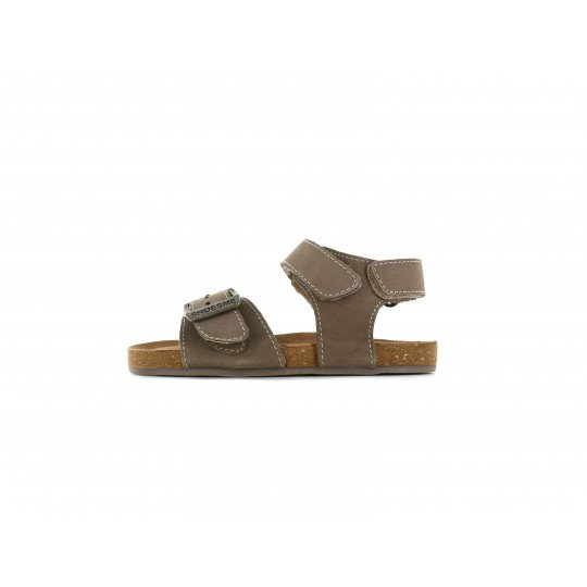 Shoesme pink metallic backpack with star