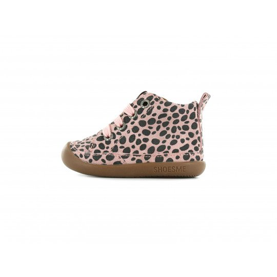 Shoesme pink BabyFlex with allover dotprint