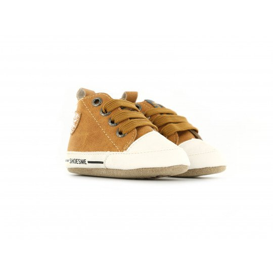 Shoesme Crib Sneaker in cognac