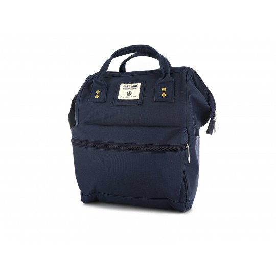 Shoesme blue messenger backpack