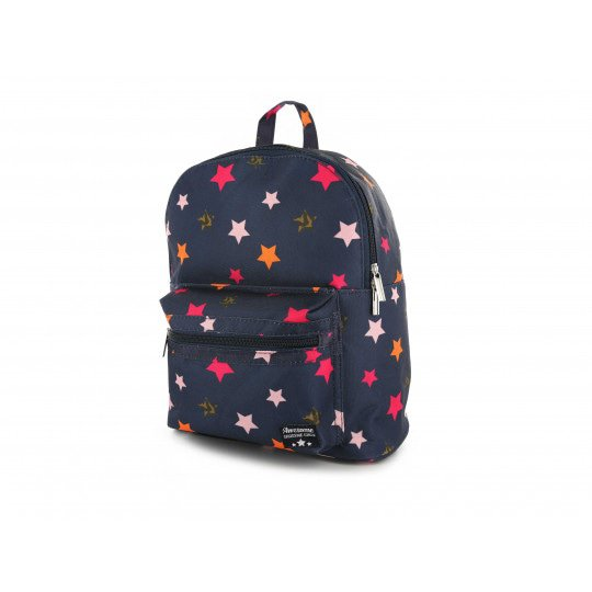 Shoesme blue backpack with all over star print
