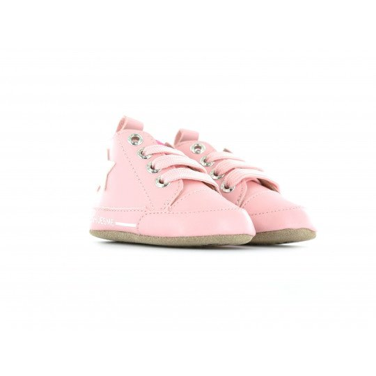 Shoesme Crib Sneaker in pink