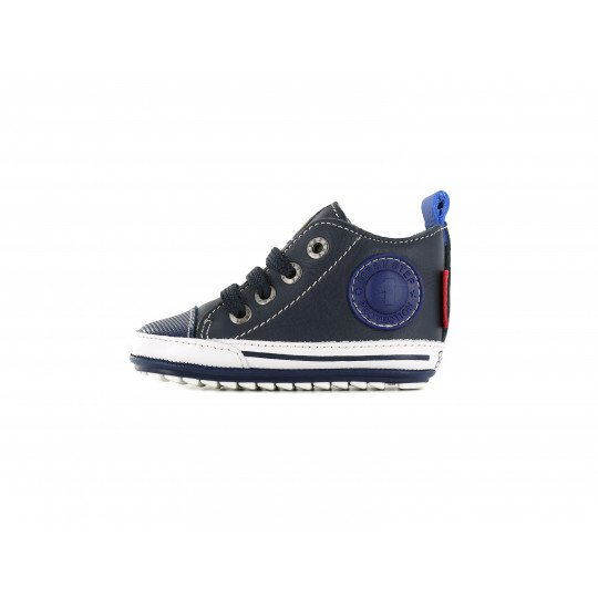 Shoesme babysneaker blue with patch