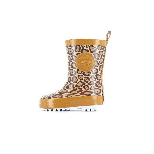 Shoesme leopard print Wellington Boot