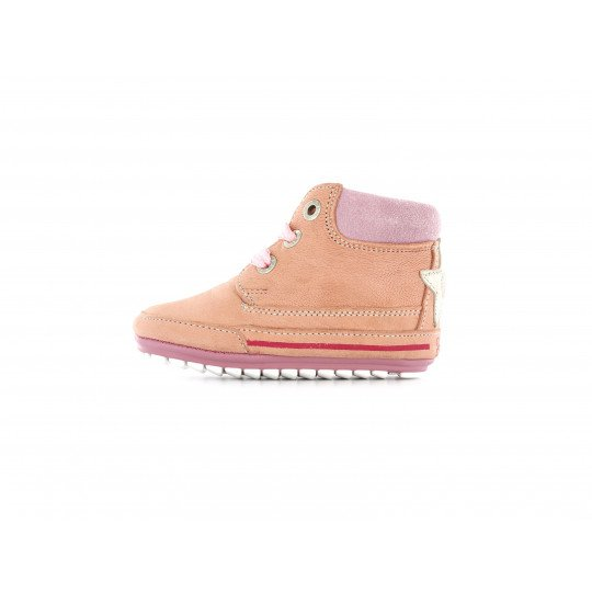 Shoesme lace-up Shoe in old pink