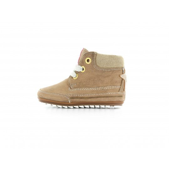 Shoesme lace-up Shoe in taupe